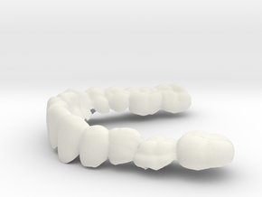 Kant-onder in White Natural Versatile Plastic