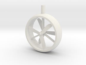 Turbo Prop Assembly for 28mm in White Natural Versatile Plastic