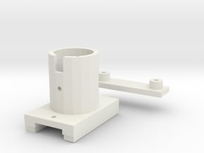 Zoom mod top plate in White Natural Versatile Plastic