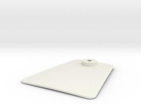 door_B in White Natural Versatile Plastic