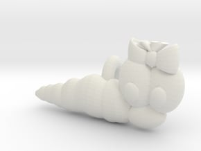 Wurmi female (Test) in White Natural Versatile Plastic