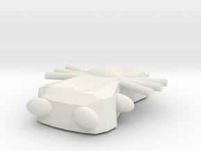 Kunibert S4 in White Natural Versatile Plastic