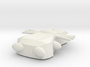 Kunibert in White Natural Versatile Plastic