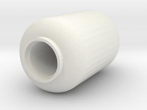 Propane Tank - 5 Gallon - 28mm scale in White Natural Versatile Plastic