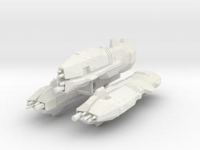USF Light Cruiser x 3 in White Natural Versatile Plastic