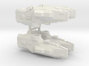 USF Frigate x 4 in White Natural Versatile Plastic