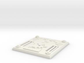 door 5 in White Natural Versatile Plastic