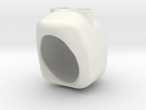 Minion Helmet in White Natural Versatile Plastic