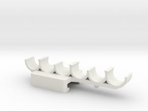 Nerf Shotty Rack in White Natural Versatile Plastic