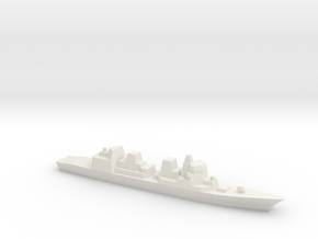 [JMSDF] Akizuki Class 1:3000  in White Natural Versatile Plastic