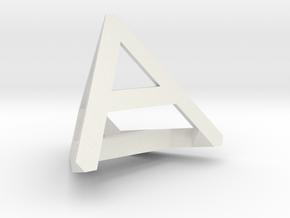 ADHD 20mm in White Natural Versatile Plastic