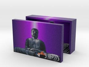 Buddha box 3in in Full Color Sandstone