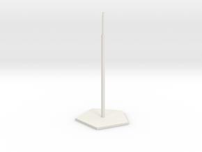 Sbird House 1 in White Natural Versatile Plastic