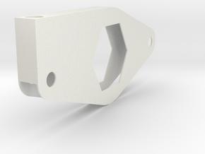 radius rod mount in White Natural Versatile Plastic