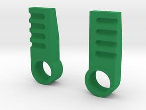 iGear Hench Brawn Stablising Heel Spurs - SFP in Green Processed Versatile Plastic