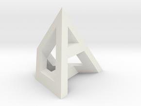 ADHD 25mm in White Natural Versatile Plastic
