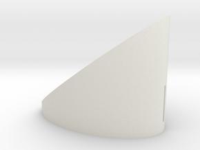 small in White Natural Versatile Plastic