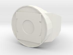classic hero ring in White Natural Versatile Plastic
