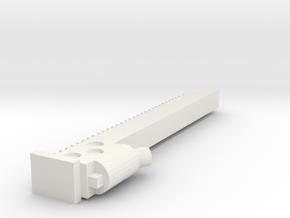 Chainsaw sword Mrk1  in White Natural Versatile Plastic