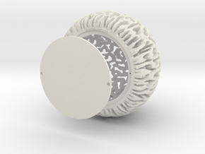 lamp corail 17+fond in White Natural Versatile Plastic