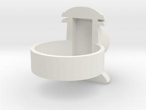 Alan Scott GL ring Size 13 in White Natural Versatile Plastic