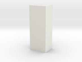 test again in White Natural Versatile Plastic