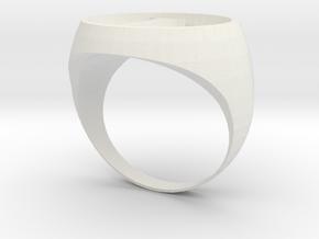 New Legion ring design in White Natural Versatile Plastic