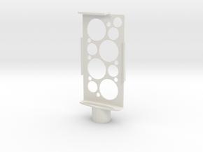Iphone holder in White Natural Versatile Plastic