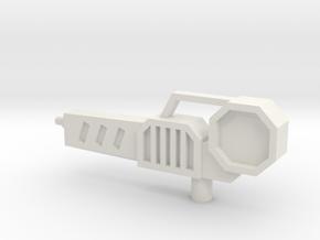 Sunlink - L-Rifle in White Natural Versatile Plastic