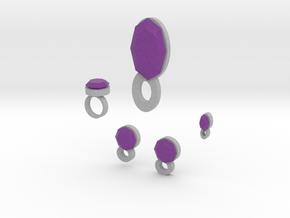 Lara Violet Airs Jewelry Set in Full Color Sandstone