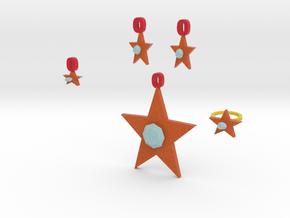 Scarlet Pimpernel Jewelry Set in Full Color Sandstone