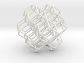 Face Centered Cubic  in White Natural Versatile Plastic