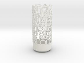 dua in White Natural Versatile Plastic