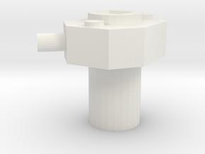 Digivice V1 in White Natural Versatile Plastic