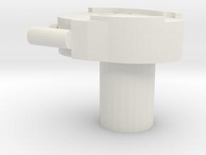 Digivice V2 in White Natural Versatile Plastic