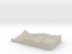 Model of Needleton in Natural Sandstone