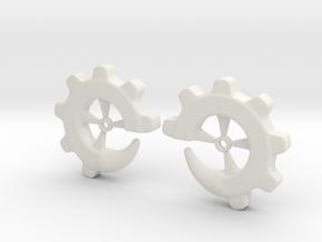 Gear-ring 00g in White Natural Versatile Plastic