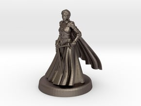 Nell (Anarchronist) in Polished Bronzed Silver Steel