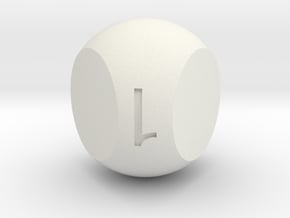 Prime 3(Solid) in White Natural Versatile Plastic
