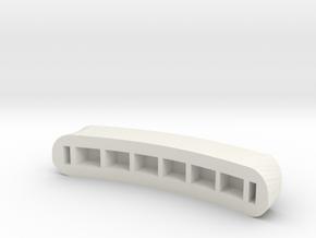Model.obj in White Natural Versatile Plastic
