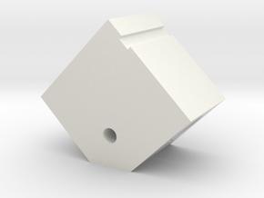 Xole 330mm Broken Arrow Motor Pod  in White Natural Versatile Plastic