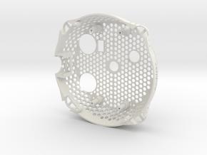 Lower Shell Lightweight ARDrone 1.0 in White Natural Versatile Plastic