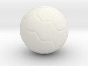 football in White Natural Versatile Plastic