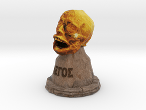 """""""The Head of St. Legos"""" in Full Color Sandstone"""