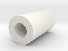 blank kill-key tube in White Natural Versatile Plastic