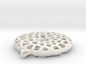 Rollaround - S in White Natural Versatile Plastic