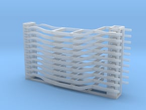Automobile Frames - N scale in Smooth Fine Detail Plastic