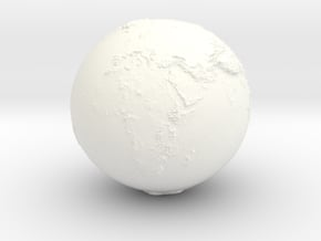 World Heights in White Processed Versatile Plastic