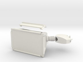 k-9 in White Natural Versatile Plastic