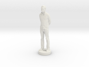 AJWithBlock in White Natural Versatile Plastic